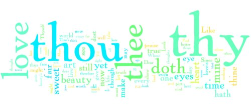 Wordle - Shakespeare's Sonnets